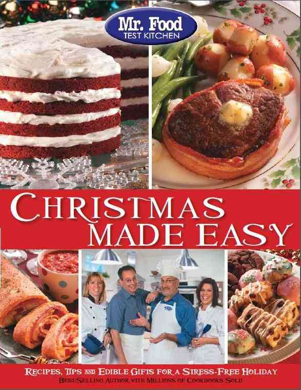 Mr. Food Test Kitchen Christmas Made Easy By Rosenthal, Howard